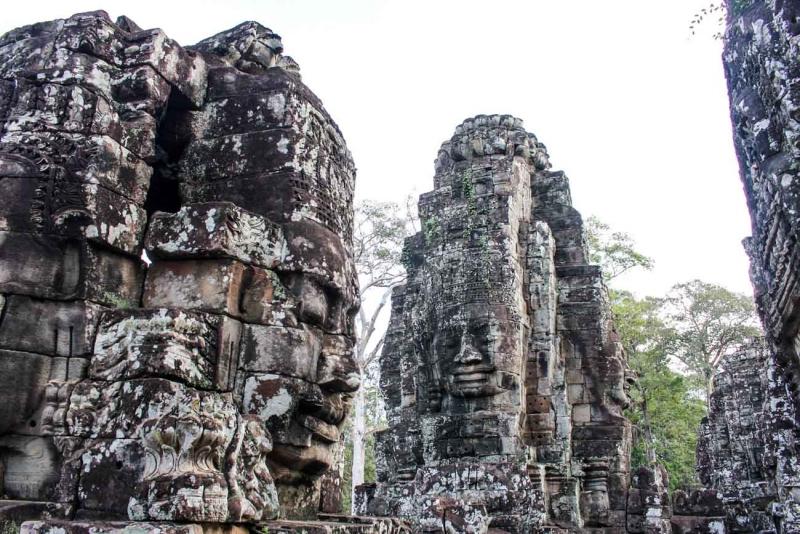 best way to visit angkor wat bayon 9
