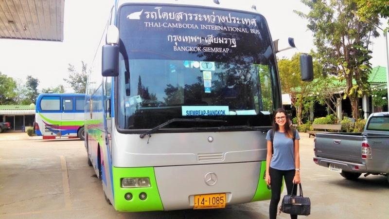 best way to visit angkor wat bus 17