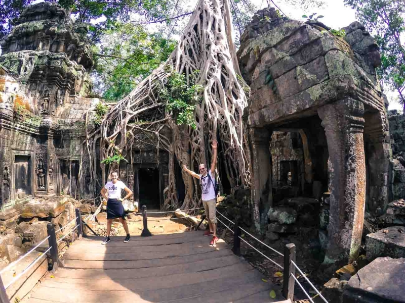 best way to visit angkor wat ta prohm 11