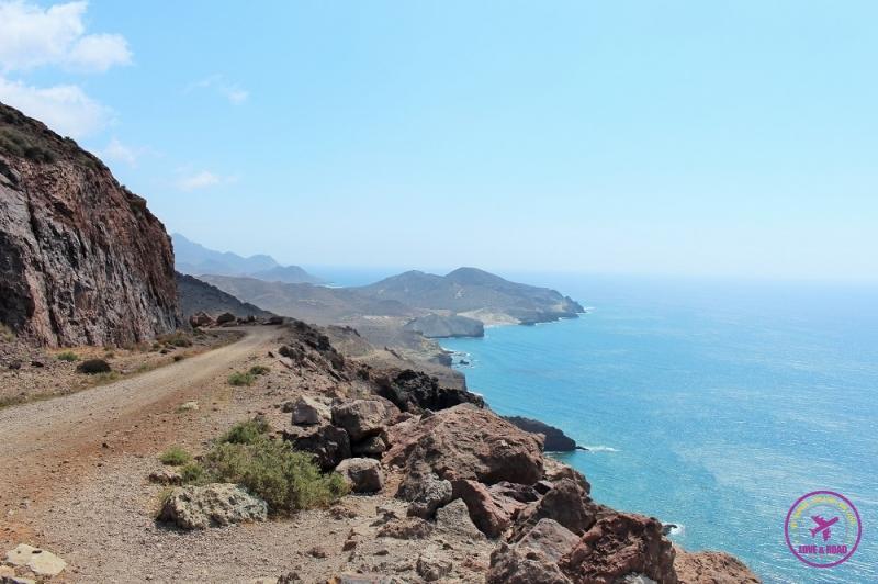 Paisagem do Cabo de Gata.