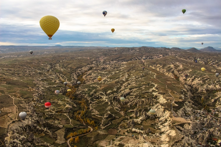 things to do in Cappadocia balloon flight