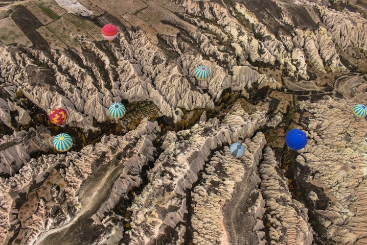 things to do in Cappadocia from above