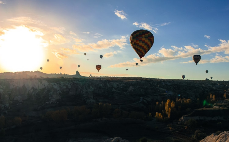 things to do in Cappadocia hot air balloon flight