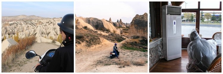 things to do in cappadocia scooter