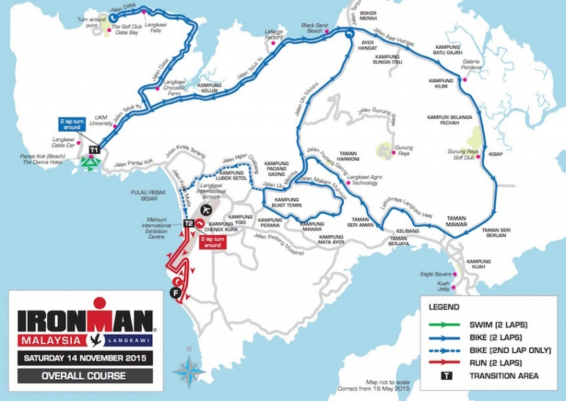 ironman malaysia overall course