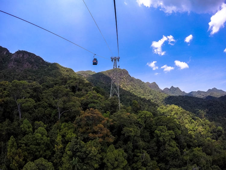 The views from the skycab are gorgeous! Top Things to do in Langkawi, Malaysia. Enjoy the island by air, water & land!