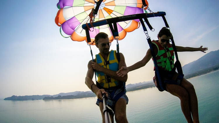 Feel the freedom, enjoy Langkawi by air! Top Things to do in Langkawi, Malaysia.