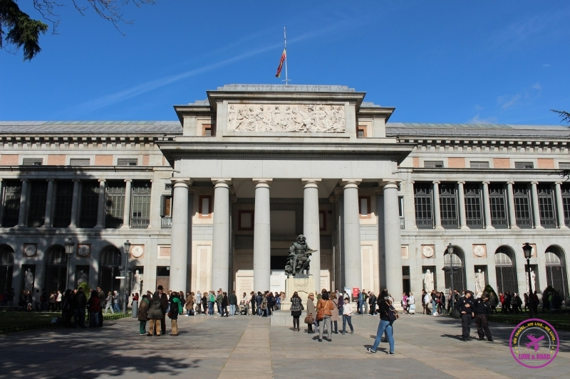 Museo del Prado, in Madrid.