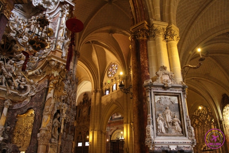 The Cathedral in Toledo is impressive!
