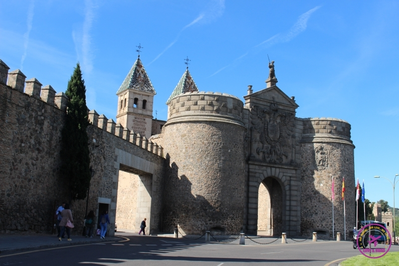The Puerta Nova de Bisagra in Toledo.