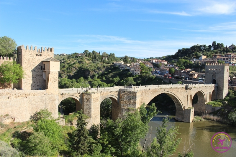 San Martin's Bridge in Toledo.