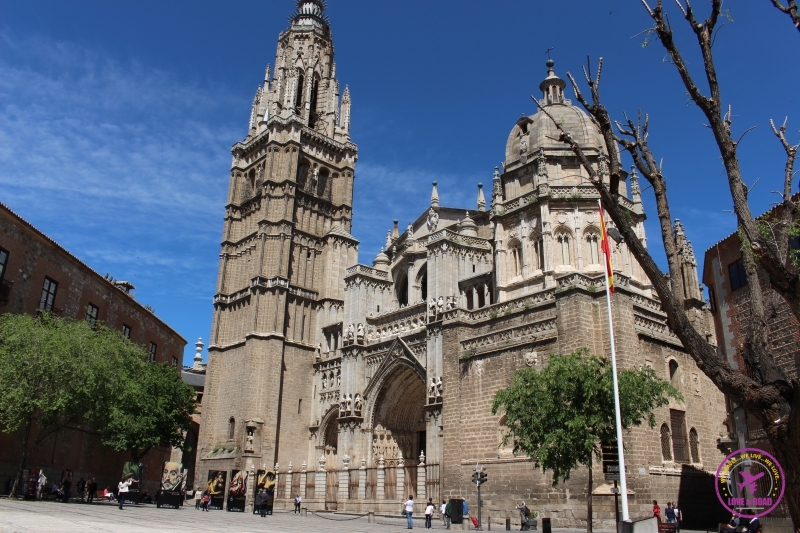 Holy Cathedral of Toledo.
