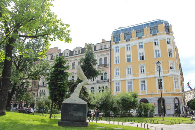 Green areas and parks are part of Sofia city center!