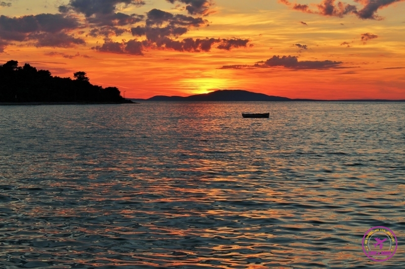 sunset croatia