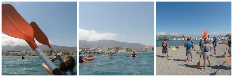 sports in catalunya kayaking