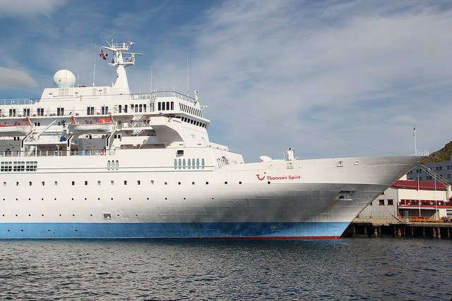 Mediterranean ship Thomson Marella Cruises.