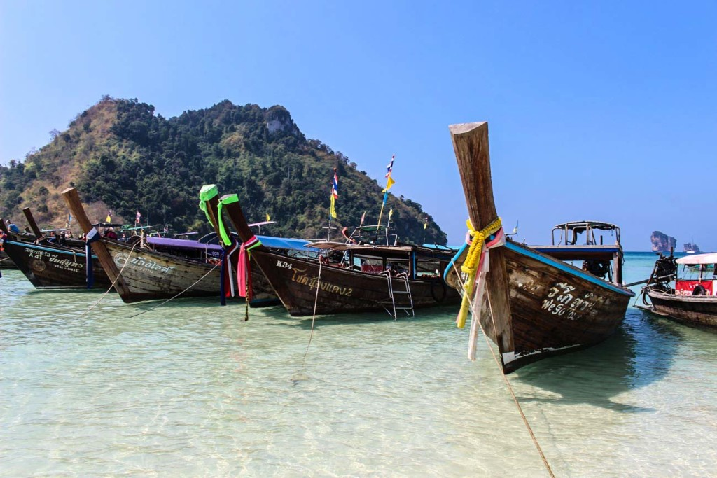 How much does it cost to travel in thailand longtail