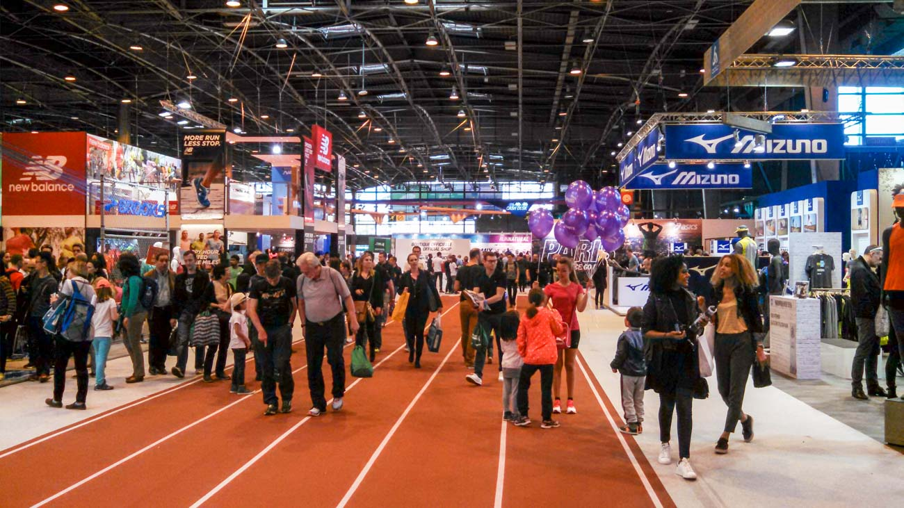 Paris Marathon Review! Details of the Salon du Running, the race course.