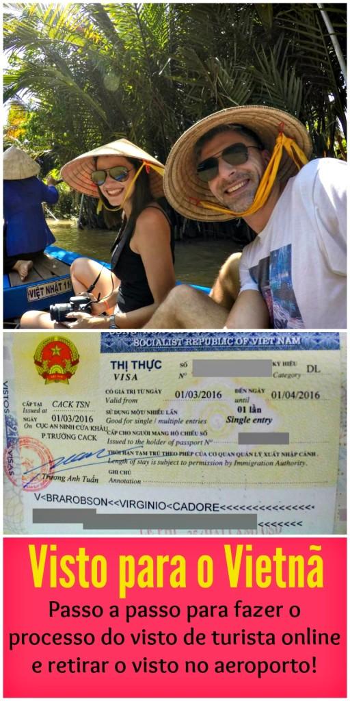 Brasileiro precisa de visto para o Vietnã! Dicas e o passo a passo de como fazer o processo via internet e retirar o visto de turista no aeroporto!