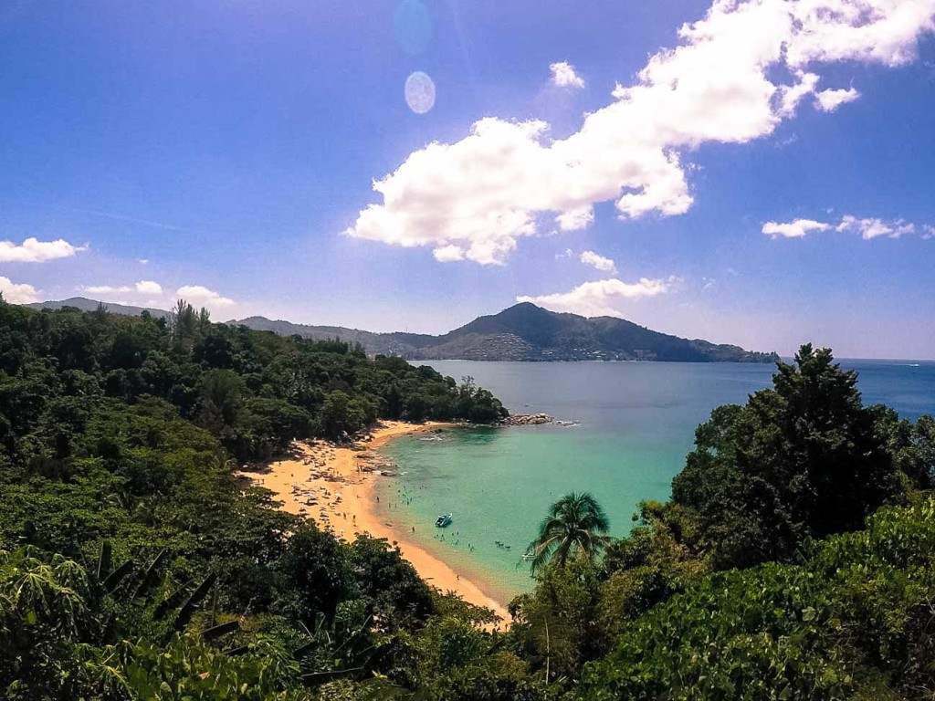 Hidden beaches in Phuket, stunning places you can only find when exploring the Thai Islands by motorbike!