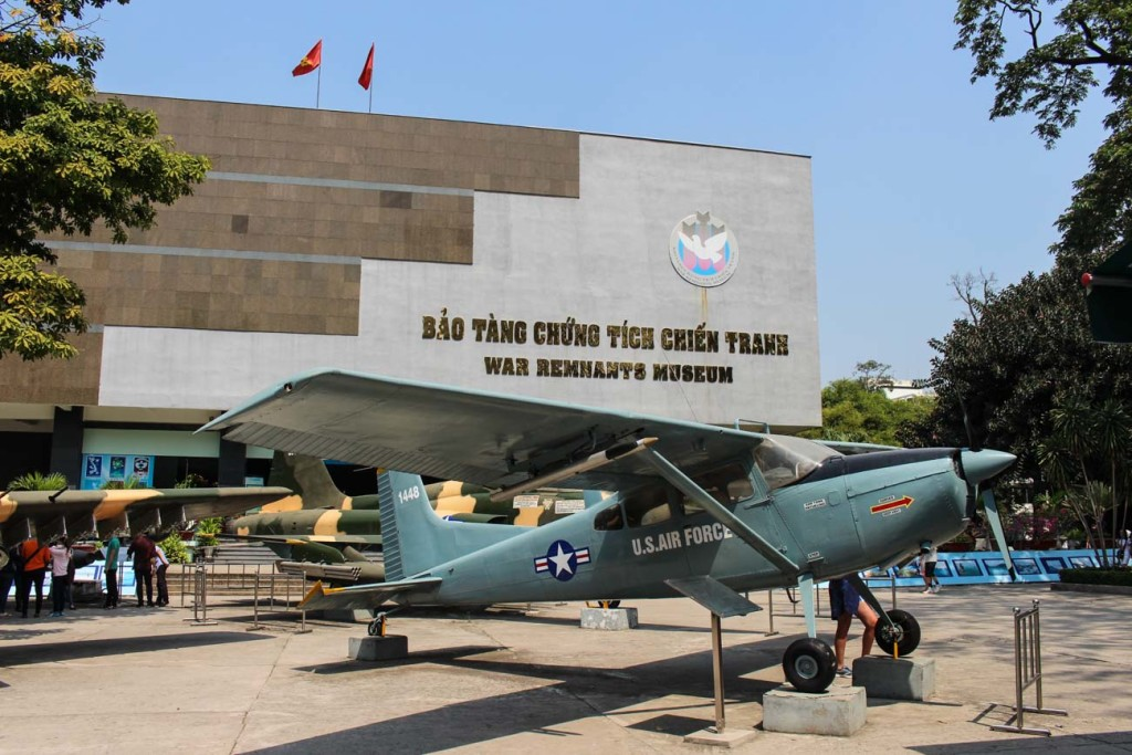 The War Remnants Museum, one of the top things to do in Saigon