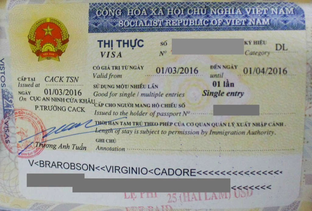 Before you explore Vietnam, and visit all the attraction in Saigon, you must organize your Tourist Visa on Arrival.