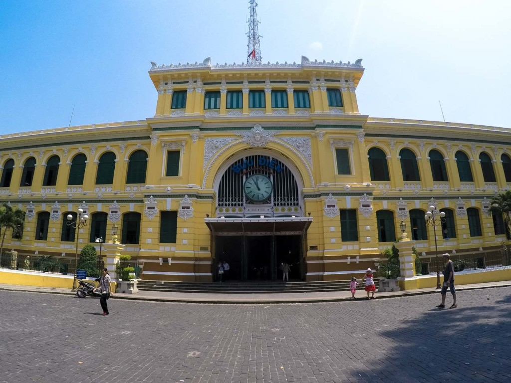 The Central Post Office is one of the top attraction in Ho Chi Minh city and it´s beautifully restored.