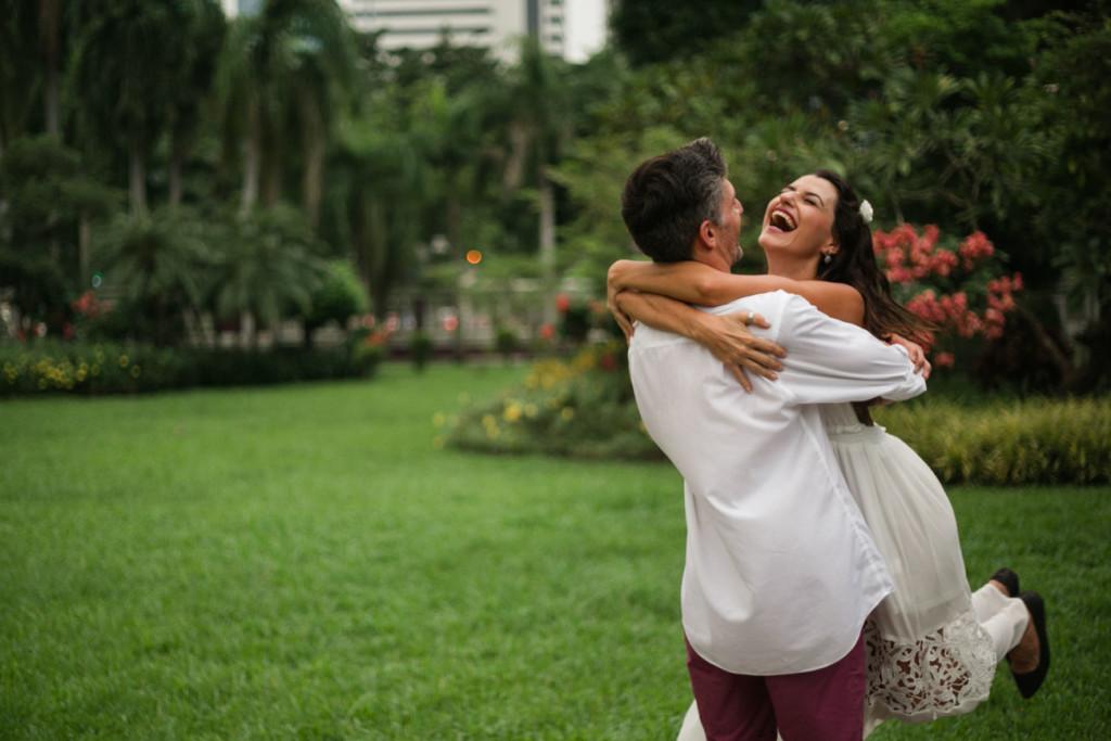 Lua de mel na Tailândia, nossa sessão de fotos no Lumpini Park - Bangkok