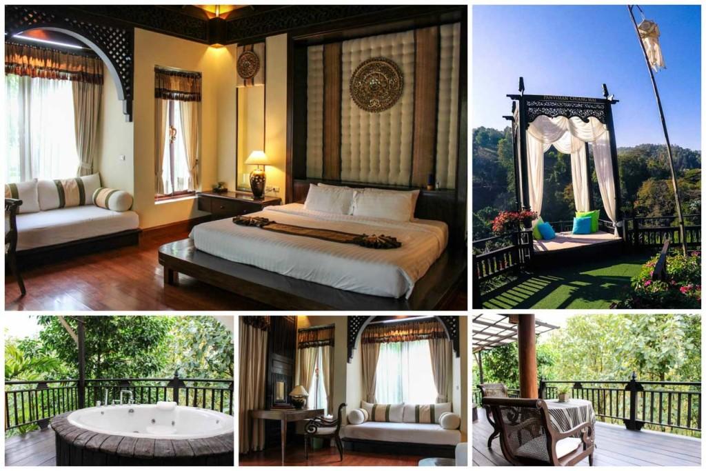 Lua de mel na Tailândia pode ser em Chiang Mai. Fique no incrível resort Panviman Chiang Mai