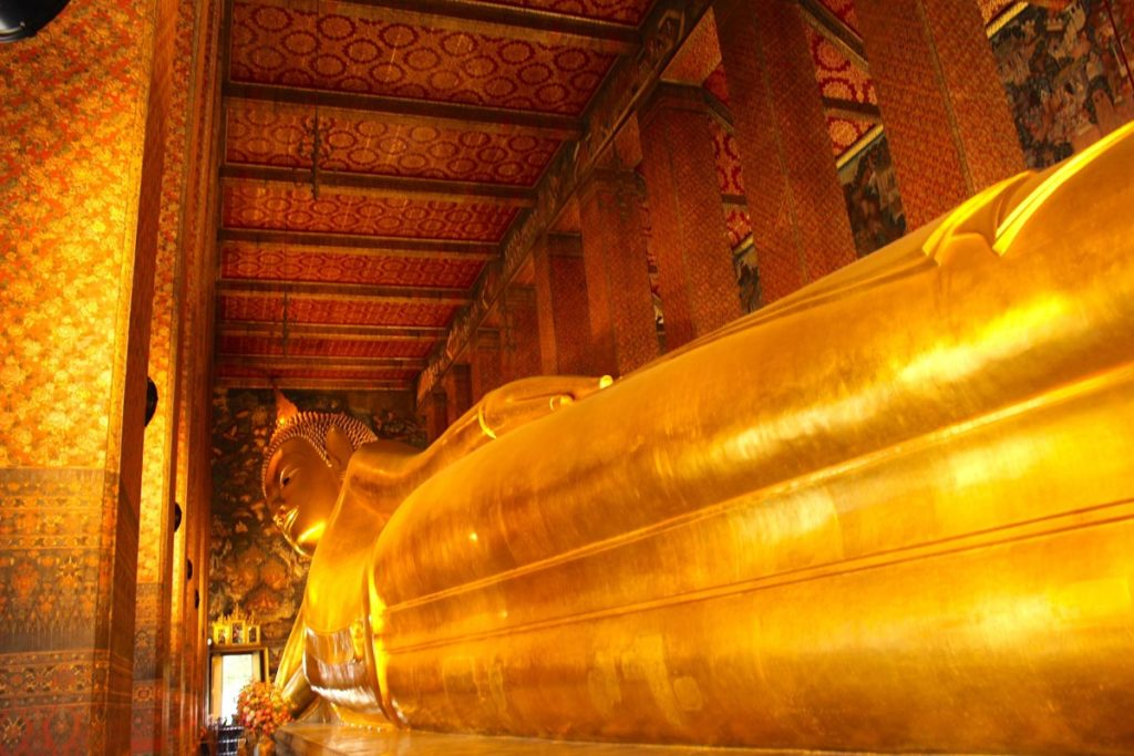 There are many cool things to do in Bangkok, visiting the ancient temples as Wat Poh is only one of them!