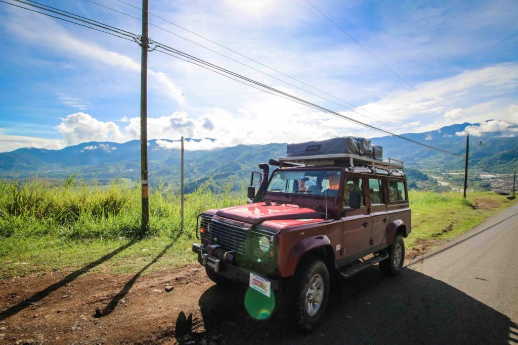 Driving in Costa Rica you can explore the country, see the mountains and natural parks.