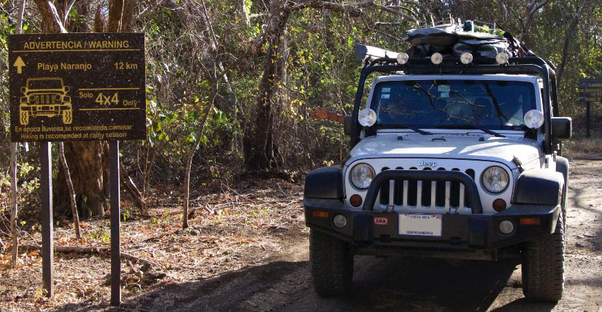 You need a strong and fully equipped 4x4 rental car for driving in Costa Rica, so you can explore the countryside.