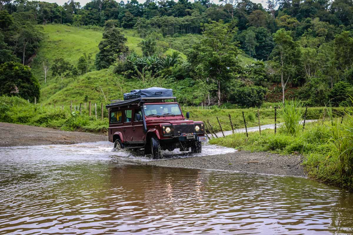 Camping and Driving in Costa Rica