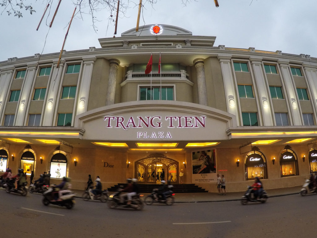 There are many things to do in Hanoi around the Opera and the Trang Tien Shopping Mall. Go there for a walk and explore the attraction in Hanoi.