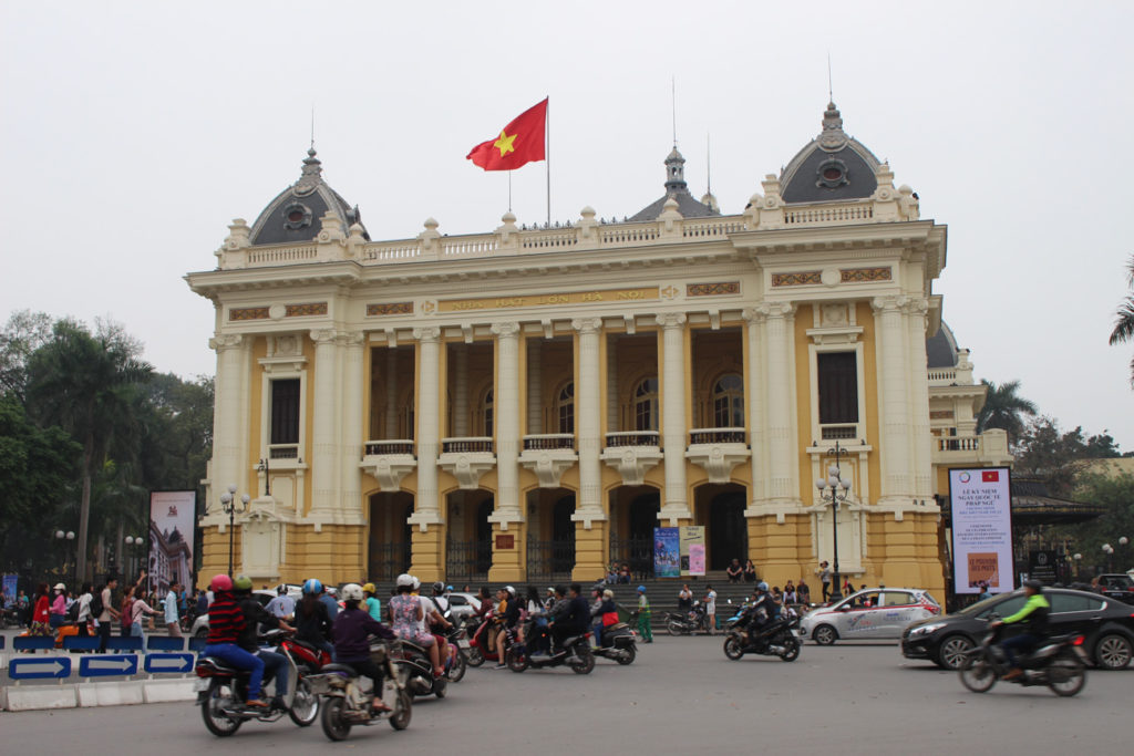 The Opera of Hanoi and many other things to do in Hanoi showcase the strong French influence on the city, and in Vietnam.