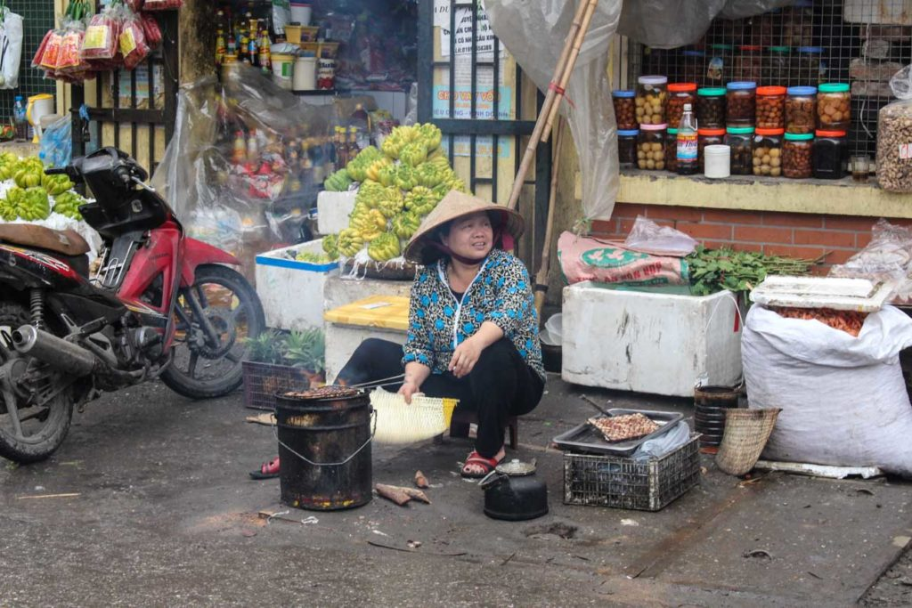 You must try street food in Vietnam, it's on the top of the list of things to do in Hanoi!