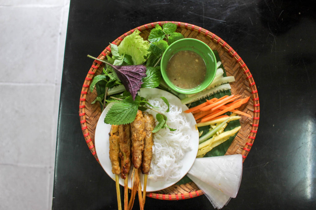 Most of the things to do in Hanoi is linked with food, delicious, fresh and cheap food.