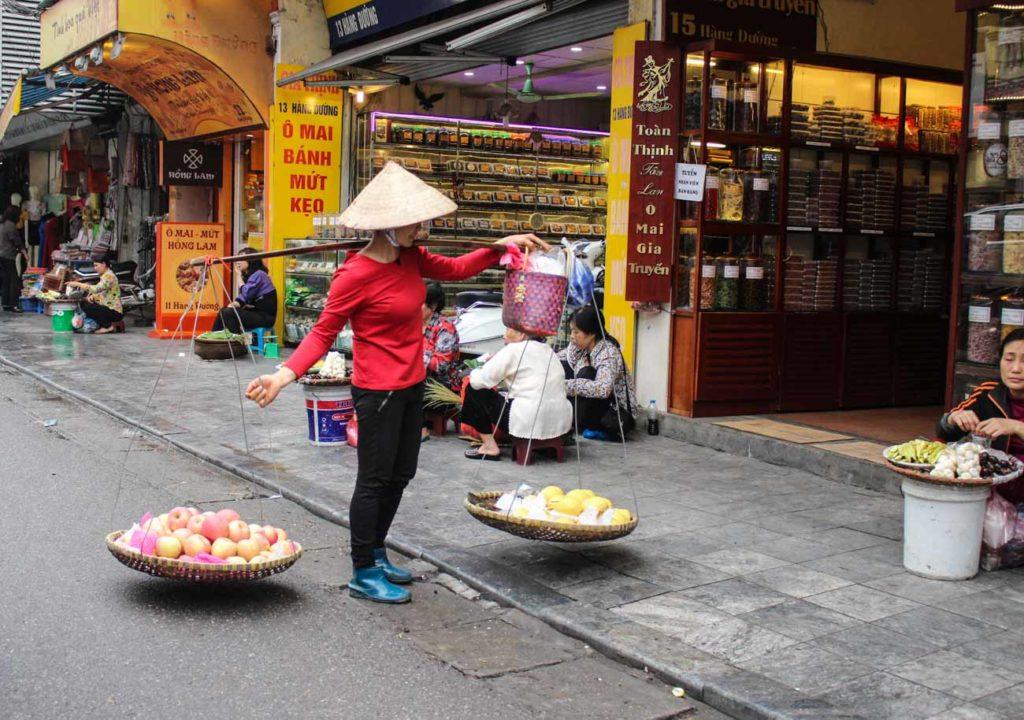No centro histórico há muito o que ver e o que fazer em Hanói!
