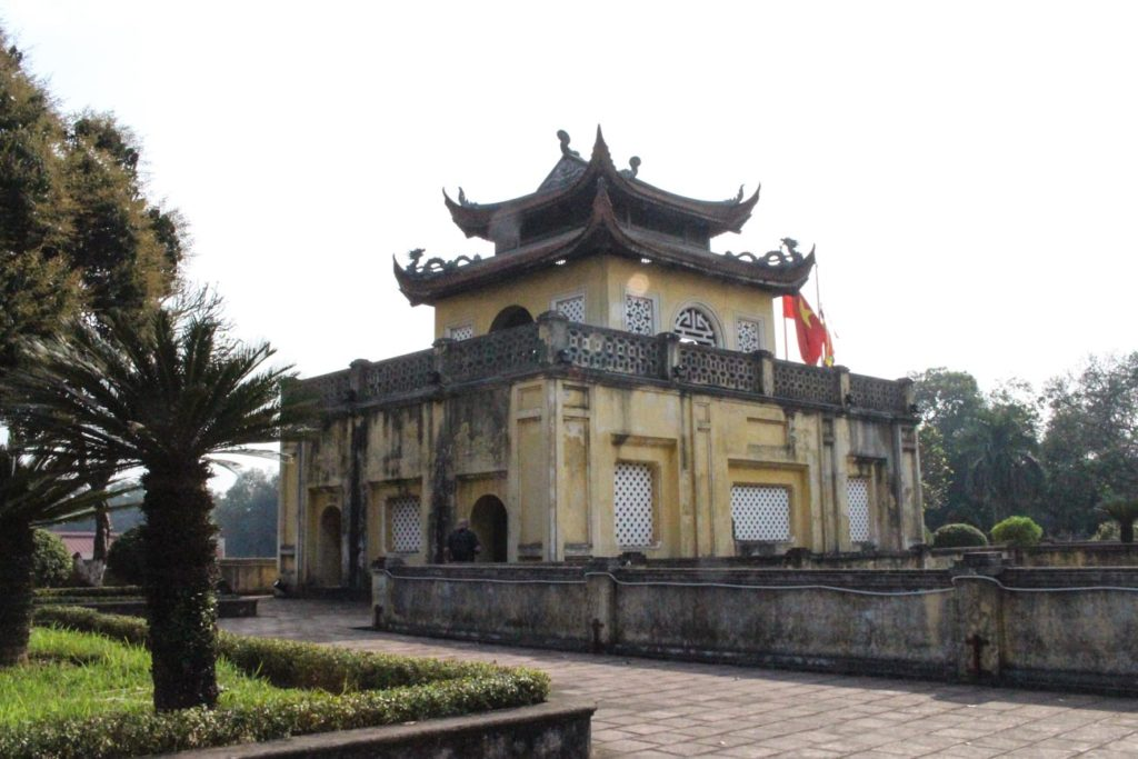 Visit the historical Citadel is just on of the top things to do in Hanoi, Vietnam.