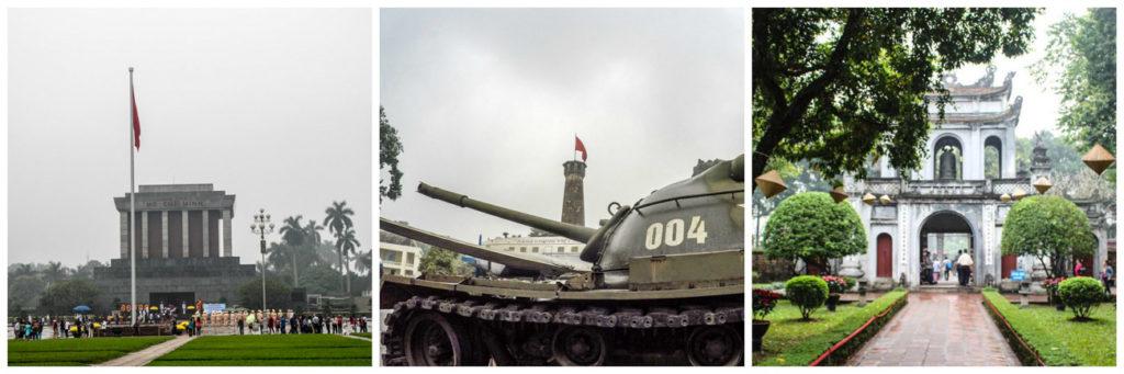 O que fazer em Hanói para aprender sobre a história da cidade: Vá visitar os museus e o Mausoleum do Ho Chi Minh.