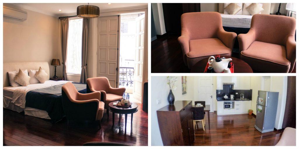 O apartamento que alugamos em Hanói era super bem localizado, perto dos pontos turísticos e do que fazer en Hanói, Vietnã