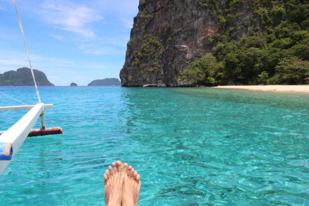 Can I stay here forever?? Pangulasian Island is only one fraction of the beauty you can find in El Nido, Philippines
