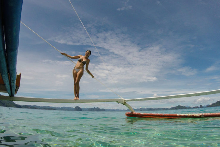 Pangulasian Island the best place to stay in El Nido, Philippines