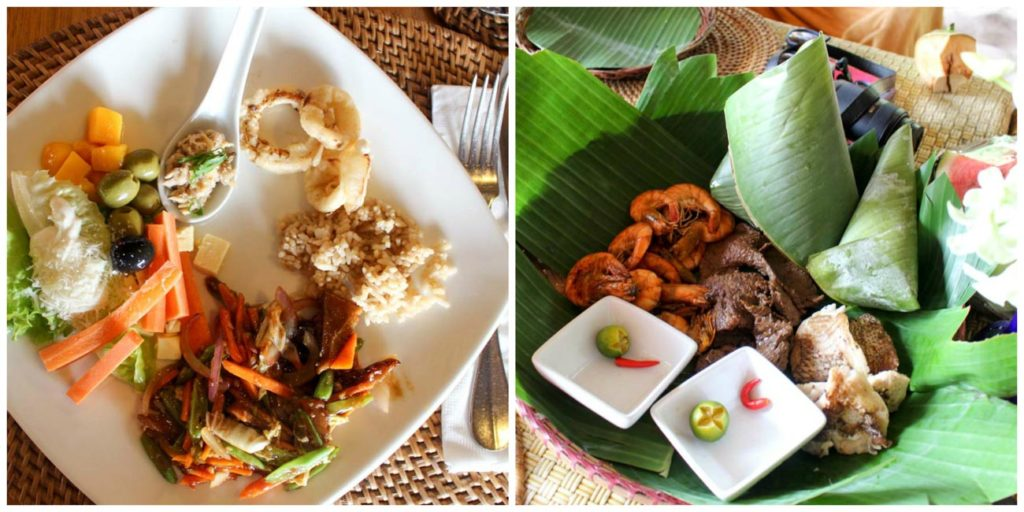 Food Fusion at Pangulasian Island. The best of Filipino Recipes and International cuisine!