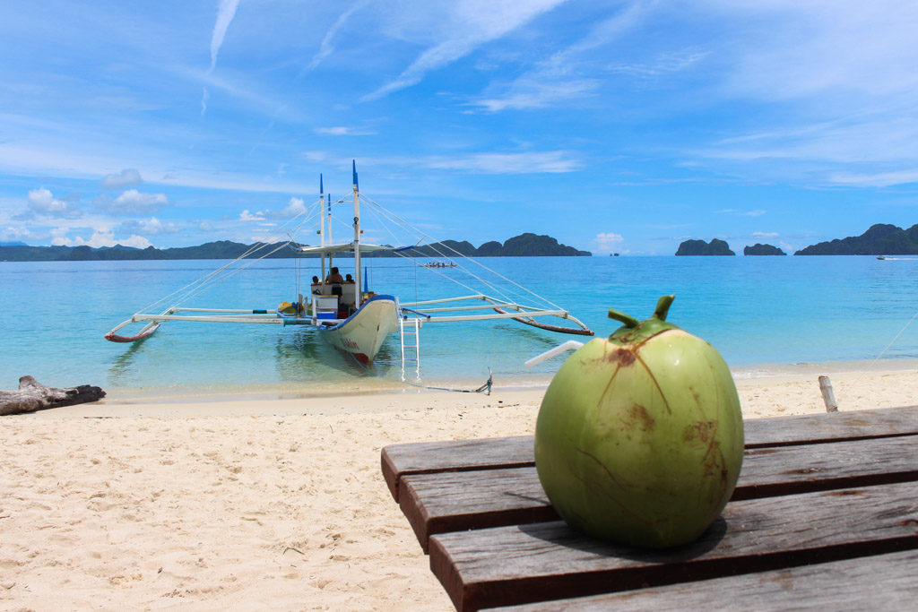 Pangulasian Island, the Paradise in El Nido, Philippines