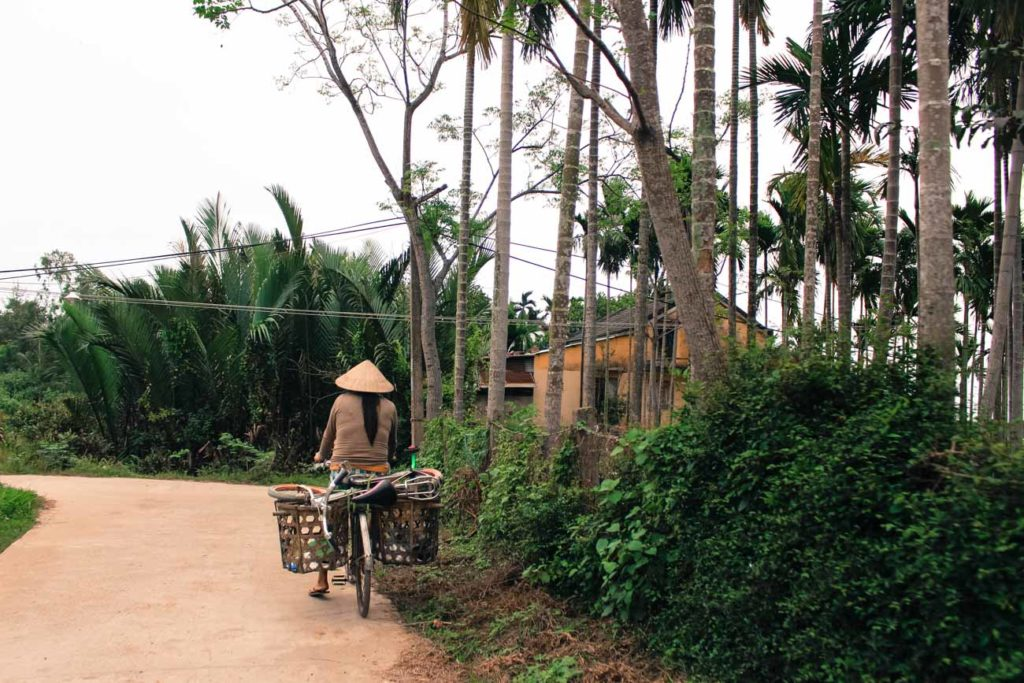 During the Hoi An Vespa Tour you can witness the real life in Vietnam.