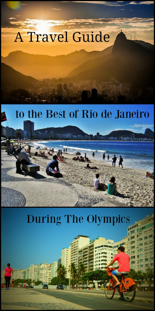 The Best Insider's Guide to Rio Olympics 2016, Brazil.
