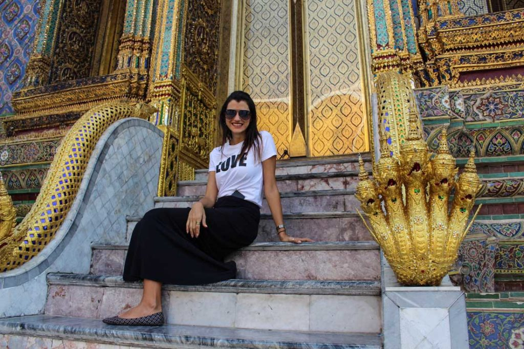 One of our 10 Travel hacks to Southeast Asia is for the girls, take care with your closes and dress accordingly.