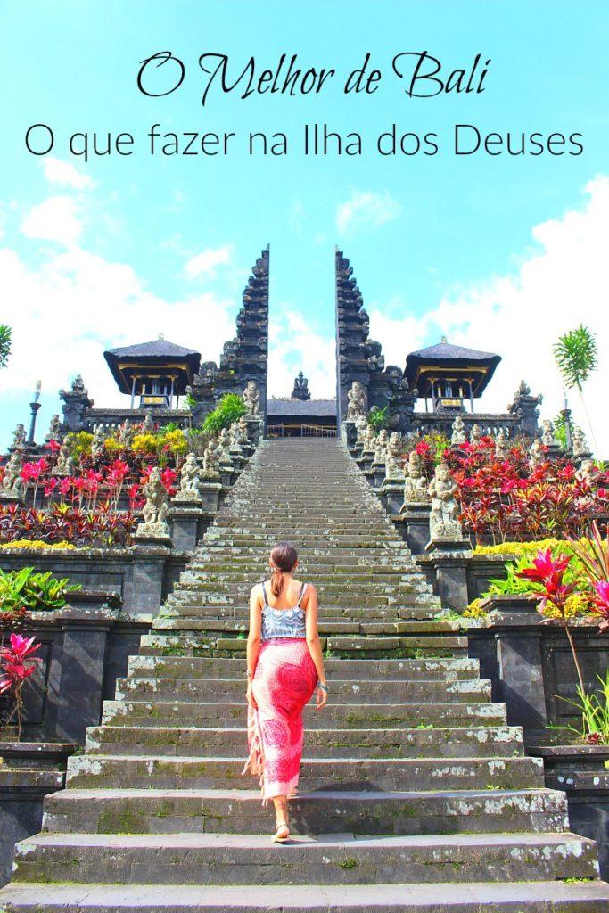 O Que Fazer em Bali: O Melhor da Ilha dos Deuses! Descubra como organizar seu roteiro de viagem, o fazer em Bali e como explorar a ilha dos Deuses. Onde ficar em Bali, onde surfar, e como curtir a natureza incrível da Indonésia.
