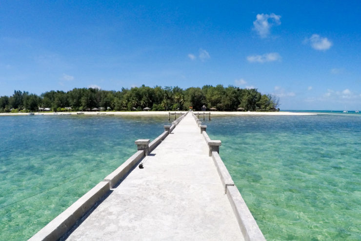 Wakatobi Islands in Indonesia
